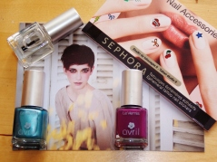 Vernis Avril et sticker à ongles Sephora (pour un prochain article)