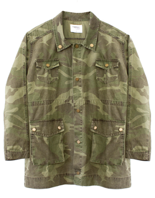 VESTE MILITAIRE SINCERELY JULES