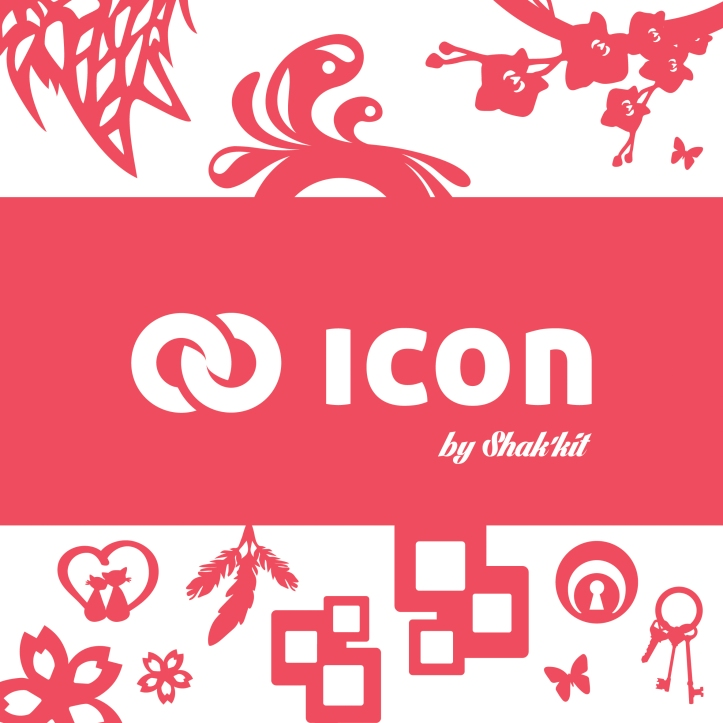 carre rose icon web