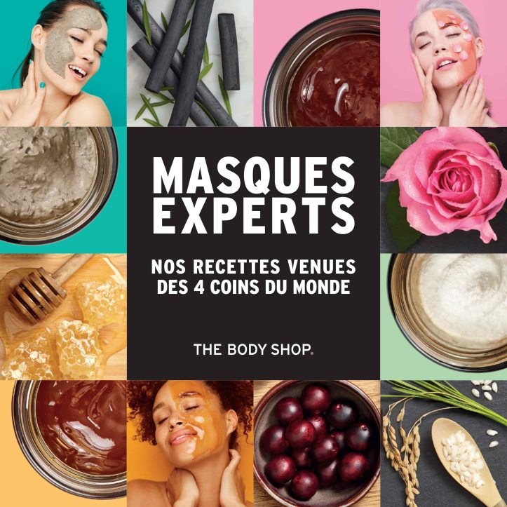 The Body Shop - Dossier de presse Masques-1