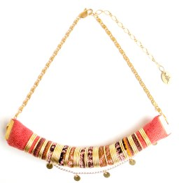 collier-pachamama-orange-chaine-4