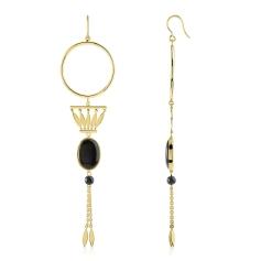 MATY BO pendantes acrylique noire 69e