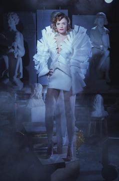 FARHAD RE collection couture printemps été spring summer 2021 Photography Iris Brosch Model Floriane Desmaret @ City Models Make-up Carne Larchet Hair Elisabete Godart © Méphistophélès Productions